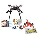DIY BNF Drone Multicopter Kit 310 mm Fiberglass Frame QQ SUPER Multi-rotor Flight Control 1400KV Motor 30A ESC