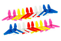 10pairs Kingkong LADRC 48mm Propeller 3blade 1mm Props for Tiny8X FPV Racing Drone Quadcopter RC Racer
