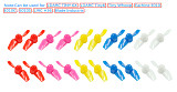 10Pairs LDARC Kingkong 31mm 2 Blade Propeller for Tiny6 / 6X H36 E010 1S Brushed FPV Racing Drone Quadcopter RC Racer