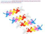 10Pairs LDARC Kingkong 31mm 4 Blade Propeller for TINY6 6X JJRC H36 E010 Brushed FPV Racing Drone Quadcopter RC Racer