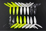 8Pairs LDARC Kingkong 5150 3 Blade Props 5 inch Propeller for FPV Racing Drone Quadcopter RC Racer
