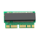 XT-XINTE M Key M.2 PCIe X4 NGFF AHCI 2280 SSD 12+16Pin Adapter Card as SSD for MACBOOK Air 2013 2014 2015 A1465 A1466 Mac Pro A1398 A1502