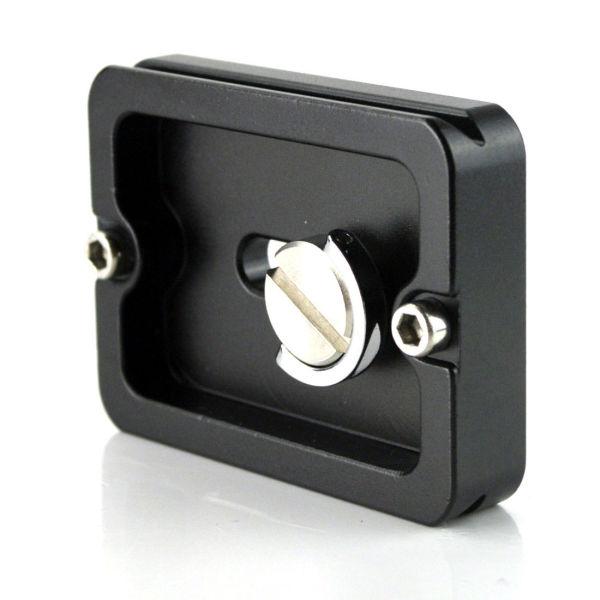 Quick Release Plate PU50 Arca Standard for Camera Tripod Ball Head Clamp 38mm