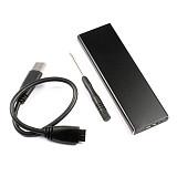 Aluminum Alloy USB 3.0 SSD Hard Disk Enclosure Adapter Converter for 2010 2011 Macbook Air A1369 A1370 MC503 MC506 MC969 MC965