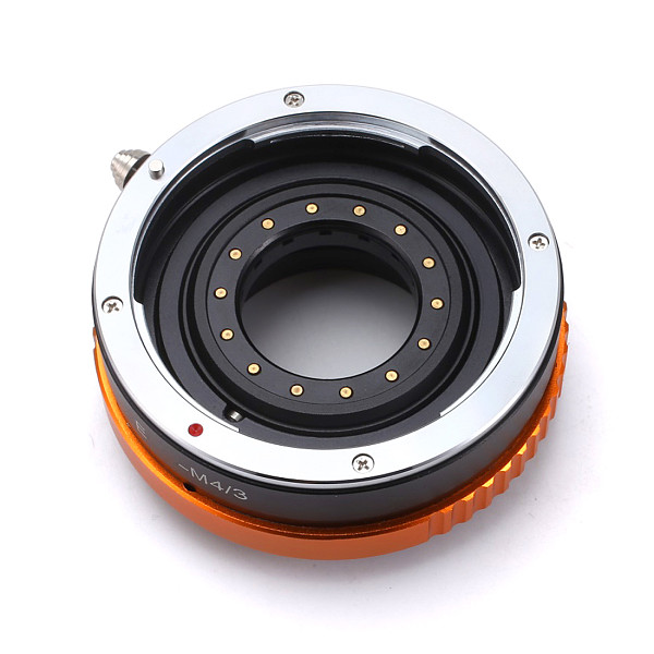 BGNING Camera Lens Adapter Ring with Aperture for Canon EOS EF Lens to Micro 4/3 M4/3 Mount Adapter for Olympus Panasonic