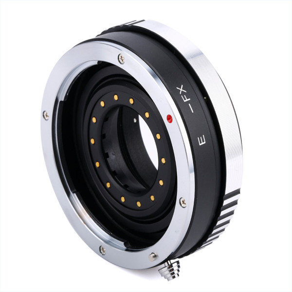 BGNING Camera Lens Adapter Ring with Aperture for Canon EOS EF Mount Lens to FX for Fujifilm Fuji X-PRO1 X-E1 X-T1 DSLR EF-FX