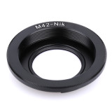 BGNING Camera Lens Adapter Ring with Focus Glass M42-NIK for M42 Lens Mount to for Nikon DSLR Camera D60 D80 D90 D700 D5000