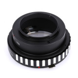 BGNING Camera Lens Adapter Ring for Nik0n AI G D S Lens to Micro 4/3 M4/3 Mount for Panasonic GH2/GH3/GH4 for Olympus M4/3 OM-D