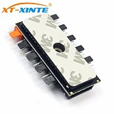 PC 1 to 10 4Pin / SATA Cooling Fan Hub Molex Cooler Splitter Cable PWM 12V Led Speed Power Supply Adapter For Mining Computer