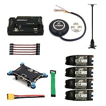 FEICHAO 4-axis RC Helicopter Electronic Parts APM 2.8 Multicopter Flight Controller 7M GPS Module with Compass Shock Absorber 30A ESC