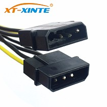 XT-XINTE Power Supply Cable 8Pin to Dual Large 4Pin CPU Adapter Cable for PC 4+4pin Power cables Wire for Miner Bitcoin Mining