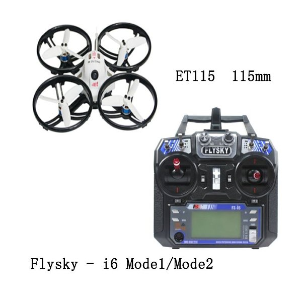 FEICHAO ET115 Quadcopter Brushless FPV RC Racer Racing Drone RTF with FS-i6 RC Transmitter Controller