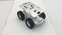 FEICHAO Intelligent Mini Metal Car Chassis RC Tank Car Truck Robot CNC Alloy Body
