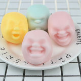 Squeeze Human Face Emotion Vent Ball Stress Relieve Adult Decompression Toys Fun