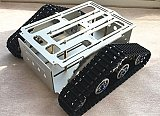 FEICHAO DIY RC Intelligent Robot Car Aluminum Alloy Tank Chassis Wall-e Caterpillar Tractor Crawler