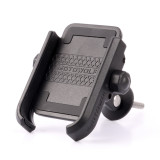 Bicycle Cycling Screw Fixed Phone Holder Mount 360 Horizontal Rotation Aluminum Alloy for 4 -6.6  Cellphone Iphone Samsung