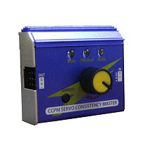 JMT Aluminum Alloy Case Multifunction 3 Channel 3CH ESC Servo Tester Digital Analog CCPM Consistency Master Checker Tester