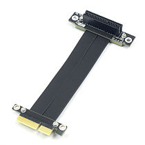 XT-XINTE PCI-E X4 Extension Adapter Cable PCIe 3.0 Extender Cord 10CM For PC Computer