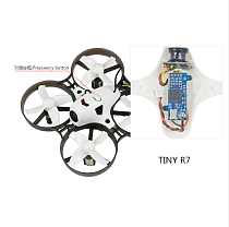 LDARC Q25G2H+199C Combo 5.8G 25mW 16CH FPV VTX & 800TVL 150 NTSC Mini Camera & Canopy for DIY Tiny R7 Whoop Inductrix Drone