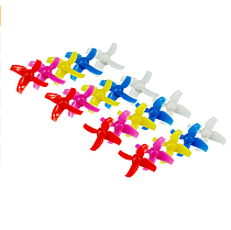 LDARC 40mm / 48mm 4-Blades Propeller Props CW CCW 10Pairs for KINGKONG Tiny R7 7X INDUCTRIX FPV+ 8X DIY FPV Brush Mini Drone