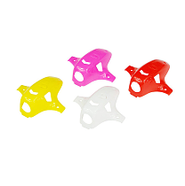 LDARC TINY R Plastic Canopy Case 4 Pieces for DIY RC Racing Drone KINGKONG TINY R7 WHOOP INDUCTRIX