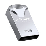 XT-XINTE Mini USB Flash Drive 16GB 32GB Vehicle Usb Memory Stick Metal Pen Drive