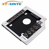 XT-XINTE 12.7mm SATA 3.0 2nd 2.5 inch Hard Drive HDD SSD Enclosure Caddy For 2.5'' DVD CD-ROM Hard Disk Case 2TB for Lenovo Optical Bay