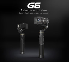 Feiyu G6 Waterproof Handheld Gimbal Action Camera Wifi + Blue Tooth OLED Screen Elevation Angle for Gopro Hero 6 5 Sony RX0 Cam