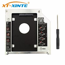 9.5mm 2nd SATA Adapter Hard Disk Drive HDD Caddy for MacBook Pro A1278 2.5  Laptop SATA to SATA HDD Bracket