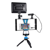 PULUZ PU3007 Handheld Video Camera Bracket ABS For Mobile Phone Video Shooting