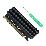 XT-XINTE LM-311N PCI-E 3.0 16X TO NVME 2280 Expansion Card Aluminum Heat Sink