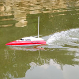 Flytec 2011-15A Mini Simulation Remote Speed Boat Airship Children's Model Toys Waterproof Electric RC Boat