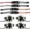 4pcs TAROT 5008 340KV 4kg Efficiency Motor TL96020 with 4pcs Hobbywing XRotor Pro 40A ESC for DIY RC Drone Quadcopter