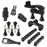 Adjustable Bicycle Clip Set Conversion Expansion Bracket for Gopro xiaoyi SJ4000 Gitup Action Camera