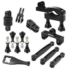 Adjustable Bicycle Clip Set Conversion Expansion Bracket for Gopro xiaoyi SJ4000 Gitup Action Camera