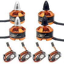 FPV Racing Drone Motor ESC Combo BLHeli 12A ESC 1806 2400KV Motor for Quadcopter RC Racer