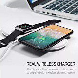 3 in 1 Wireless Charger For iPhone X For iWatch 2 3 Fast Charger Pad For Samsung Note 8 S8Plus S7Edge S9 Charger for AirPods