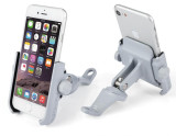 MOTOWOLF Motorcycle Bicycle Universal Fixed Navigation Bracket Aluminum Phone Holder for 4-6 inch Mobile Phone
