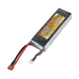 XT-XINTE 11.1V 4400MAH 30C 3S1P Lipo Battery with T Plug for RC Drone Helicopter Aircraft