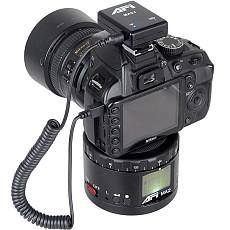 AFI MA2 Metal Electric Head Panoramic Gimbal Camera Stablizer 360 Degree Time Lapse Shooting Lasting Life HD Display For Canon Nikon Sony DSLR