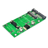 XT-XINTE High Quality Mini PCI-E mSATA SSD To 2.5 Inch SATA 3.0 22PIN 7+15Pin Adapter Converter Card Module Board