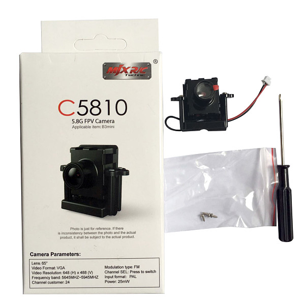 MJX C5810 5.8G FPV WIFI Camera for MJX Bugs 3 B3 Mini Brushless RC Quadcopter Drone Cam D43 Monitor Replace C5007