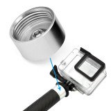 BGNING 1/4  Thread Converter Adapter for Extension Rod Bar Reach Pole Arm for G6 G5 SPG Live G4 Series Handheld Gimbal Monopod