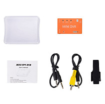 JMT Mini DVR Video Recording with Storage Function NTSC/PAL Adjustable for Aircraft RC Drone Quadcopter