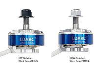 LDARC XT2306 2500KV CW CCW Motor for FPV Racing Drone Quadcopter Lightweight Design Silver Plate Line