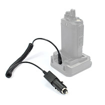 Q14771 12V DC Travel Car Charger Cable for BaoFeng UV-5R 5RA / B / C / D / E PLUS TYT TH-F8