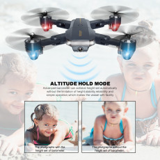 New FQ777 FQ35 30W 200W Pixel 2.4G RC Helicopter RTF WIFI FPV Wide Angle HD Camera High Hold Headless Foldable Quadcopter Drone