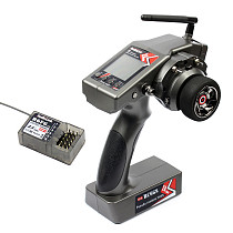 RadioLink RC6GS 2.4G 6CH Rc Car Controller Transmitter&R6FG Gyro Inside Receiver(400m distance)