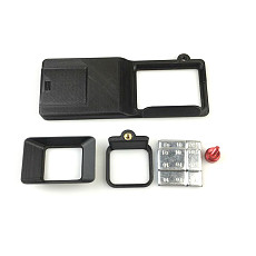 BGNING Stabilizer Conversion Splint Plastic Adapter Fixture Gimbal Clip For OSMO Mobile Phone Gimbal Gopro Hero3/3+/4 5 6