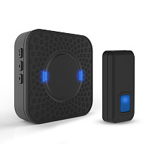 MingChuan Wireless Doorbell for Home with 55 Melodies Clear Music and High Decibels Operating at over 900-feet Range 5 Level Volumey and LED Flash